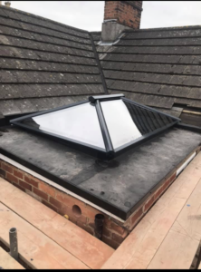Roofing company Basingstoke can install skylights anywhere on your roof